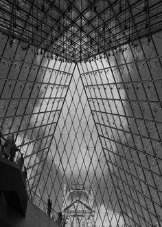 Inside the Louvre - Paris