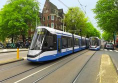 This summer, it will be possible to get familiar with the new generation of trams for Amsterdam. On 18.07.2017, the Amsterdam transport authority (GVB) and manufacturer CAF presented a life-size mo…