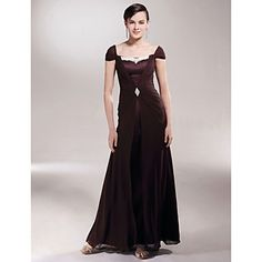 BRANKA - Vestido de Madrina de Gasa y Satén – EUR € 73.99
