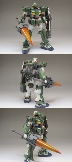 Custom Build: 1/144 RX-81AS G-Line Assault Armor - Gundam Kits Collection News and Reviews
