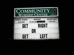 Funny Church Signs - Beliefnet.com