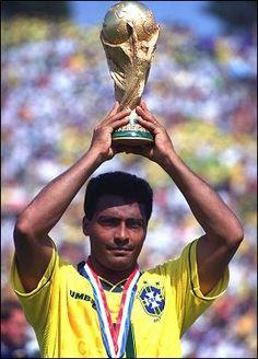 Romario de Souza Faria, Brasil - World Champion 1994 (Worldcup USA)