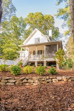 Ackerman Residence Sugarberry Cottage - farmhouse - exterior - other metro - Brookstone Builders
