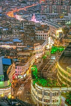 A scene of Siming Nan Rd in Xiamen when the evening lights are lit. by Apple Travel China ( Top Hotels, Hotels And Resorts, Summer Paradise, Tianjin, Chongqing, Xiamen, China Travel, City Photo, Fujian China