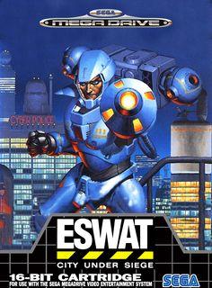 ESWAT Classic Genesis Game