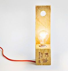 Pallet Lights come as a standing floor model or a block light meant for table tops