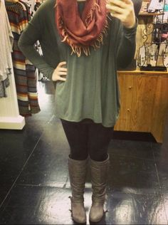Outfit of the day! Here's a better look at how awesome Piko tops fit: we paired…