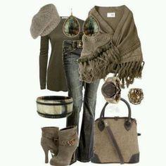 Elegant Bohemian Style. Love this~SC