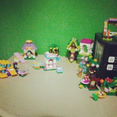Trisha mae's lego friends there soo many and built them all