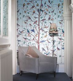 Uccelli Wallpaper by Cole & Son | Jane Clayton