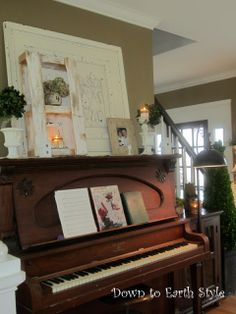 Down to Earth Style: Music Room