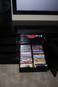 Pull out video storage