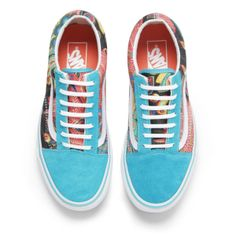 9c15be731a2 Vans Women s Old Skool Peacock Trainers - Multi