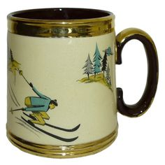 ski tankard - inspiration, colors for the Little Tykes School house