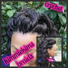 Shaved Sides With More Crochet Braids Awesome Hair