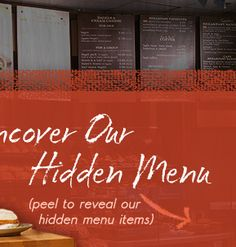 Panera's hidden menu . Better options for low carb. Who knew?