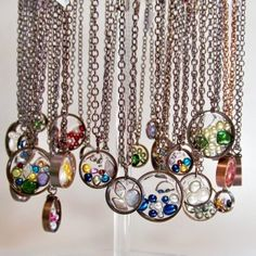 Bliss Cu display - Up-cycled jewelry