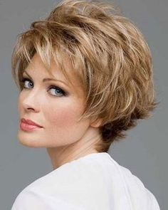 Short Hairstyles for Mature Women.