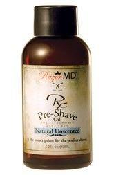 Pre-Shave Öl zur Vorbereitung der Konturen-Rasur oder Nassrasur. Natural Unscented.