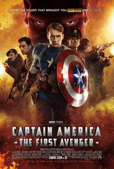 Captain America: The First Avenger (UK) 27x40 Movie Poster (2011)