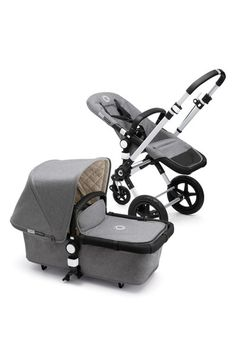 Designed for easy, safe handling in all types of terrain, this stroller system from Bugaboo's Buffalo Classic+ Collection is made up of sturdy pieces that work together seamlessly to keep your baby safe and comfortable.