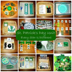 Montessori-inspired St. Patrick's Day learning activities and free printables for kids.