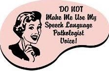 Speech blog speech-therapy my-pins  Things could get ugly.  DO NOT BITE ME! haha