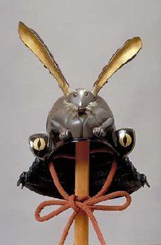 Samurai bling: Crazy armor and helmets from medieval Japan Ronin Samurai, Samurai Helmet, Samurai Weapons, Samurai Armor, Arm Armor, Japanese Warrior, Japanese Sword, Samourai Tattoo, Japan Crafts