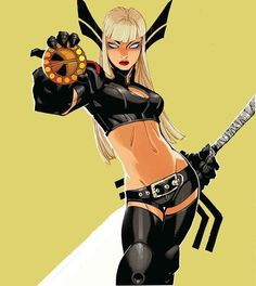 Girl interrupted  Did you know that Magik lived most of her youth in the hell dimension Limbo? No wonder the girl is twisted!  #marvelcomics #Comics #marvel #comicbooks #avengers #captainamericacivilwar #xmen #xmenapocalypse  #captainamerica #ironman #thor #hulk #hawkeye #blackwidow #spiderman #vision #scarletwitch #civilwar #spiderman #infinitygauntlet #blackpanther #guardiansofthegalaxy #deadpool #wolverine #daredevil #drstrange #infinitywar #thanos #magneto #cyclops #magik…