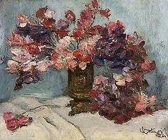Ervilhas de cheiro, 1956 Leopoldo Gotuzzo (Brasil, 1887-1983) óleo sobre tela, 39 x 46 cm