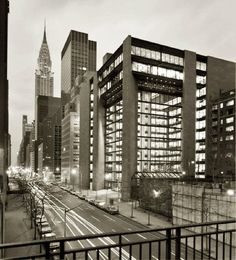 : la Fundación Ford. New York. Kevin Roche y John Dinkeloo. 1968