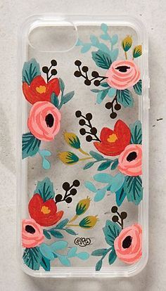 floral phone case by rifle paper co. #anthrofave