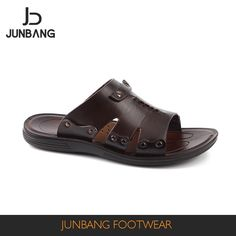 Source Most newest style high quality pu slippers handwork men sandals 2017 on m.alibaba.com