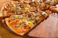 This Meat delite pizza looks amazing #PapaMurphysMom