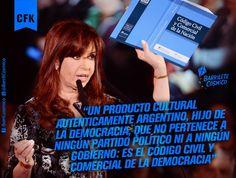 #CódigoCivilyComercial #Democracia //   #CFK #Cristina #LAPresidenta #LaJefa #Militancia #Argentina #PatriaGrande #Latinoamérica #AméricaLatina #AméricaLatinayelCaribe #Iberoamérica #Sudamerica #LaPatriaEsElOtro #UnidosyOrganizados #MovimientoNacionalyPopular