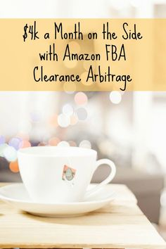 Travis shares how he's earning $4k a month this year with Amazon's FBA program working just a few hours a week. This is a super-inspiring story! $4k a month on the side with Amazon FBA clearance arbitrage, via @sidehustlenation