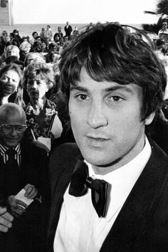 Robert De Niro, Cannes Film Festival, 1976.
