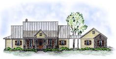 House Plan 56512 | Country Plan with 1790 Sq. Ft., 3 Bedrooms, 2 Bathrooms, 2 Car Garage