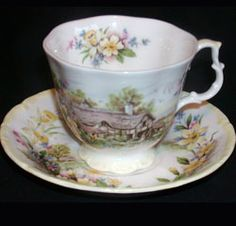 Royal Albert - Cottage Garden Year Series - Collector Plates www.royalalbertpatterns.com