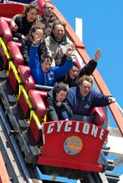 Hurricane Sandy didn't damage iconic thrill ride, operators say • Brooklyn Daily