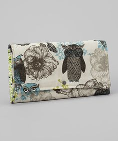 Look at this Brownie Gifts Enchanted Owl Diaper Clutch on #zulily today!