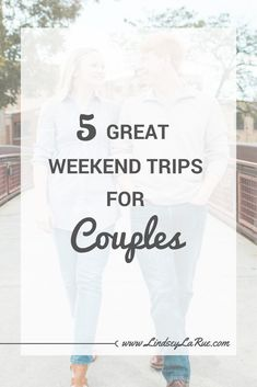 5 Great Weekend Trips Destinations in the US for Couples - weekend getaways Best Vacations For Couples, Weekend Getaways For Couples, Vacations In The Us, Romantic Weekend Getaways, Couples Vacation, Weekend Vacations, Romantic Vacations, Romantic Travel, Vacation Ideas