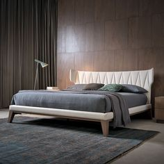 Luxury Modern Winged Quilted Bed at Juliettes Interiors. Bedroom Furniture, Furniture Design, Bedroom Decor, Furniture Dolly, Contemporary Interior Design, Modern House Design, Modern Bed Designs, Contemporary Furniture, Cama Tatami
