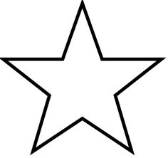 I Always End Up Googling For This So Here Self File Five Pointed Star Svg