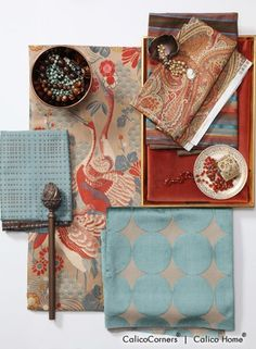 Spice Island Fabric Collection
