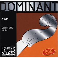 Thomastik Dominant 1/16 Size Violin Strings 1/16 G String