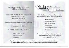 Fundraiser Invitation Templates Night At The Museum Invitation Template  Google Search  Fundraiser .