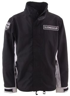 SLEDNECKS DESTROYER JACKET (2015) - Black, Non insulated  http://www.upnorthsports.com/snowmobile/snowmobile-clothing/snowmobile-jackets/mens-jackets/slednecks-destroyer-jacket-2015.html