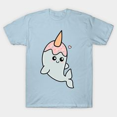 Cute nawhale kawaii t-shirt. Grab it before it disappears