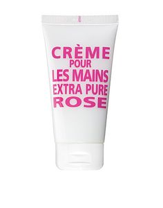 Rose hand cream from Savon de Marseille